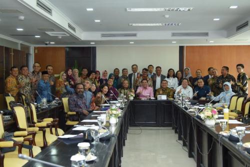 Rapat Perdana BKSAP (04/09/2019)